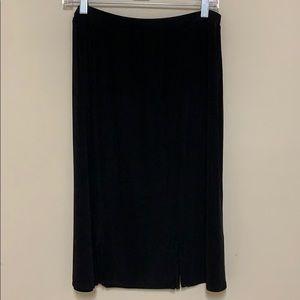 Chico's travelers black skirt.